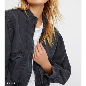 Free People Jackets & Coats - Free People Poet Blouson sleeve Jacket